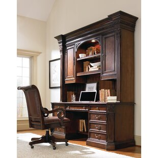 European Renaissance II Executive Desk with Hutch