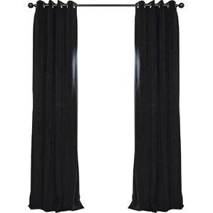 thalia blackout grommet single curtain panel