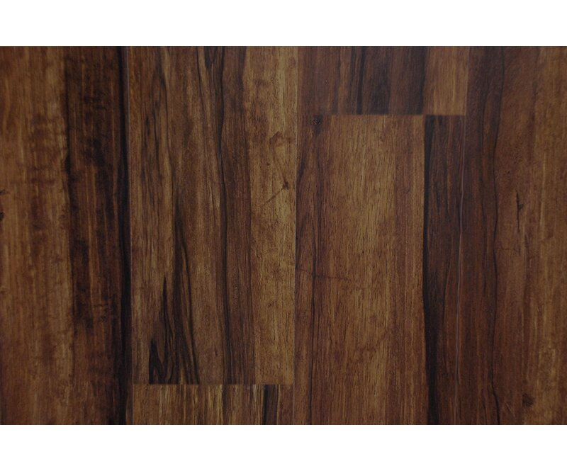 "AllAmericanHardwood Cottage 6"" x 48"" x 12mm Laminate Flooring  Color: Sunset"