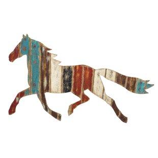 Plank Horse Wall Décor