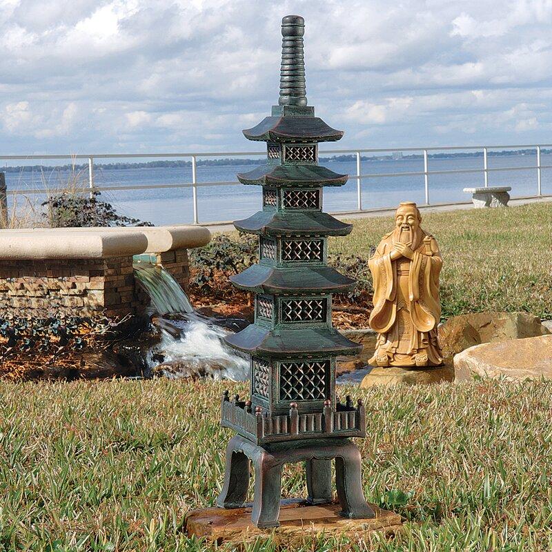 The Nara Temple Asian Garden Pagoda Garden Art