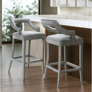Amabilia 30.7 Bar Stool Everly Quinn