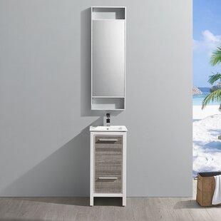 Trieste Allier Rio 16 Single Bathroom Vanity Set by Fresca
