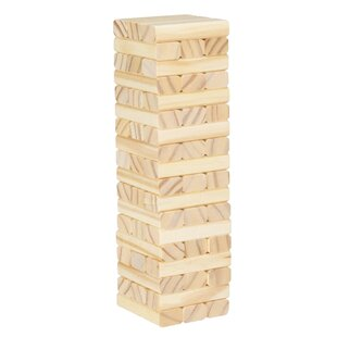 54-Piece Tabletop Stacking Game Set by Hey! Play!
