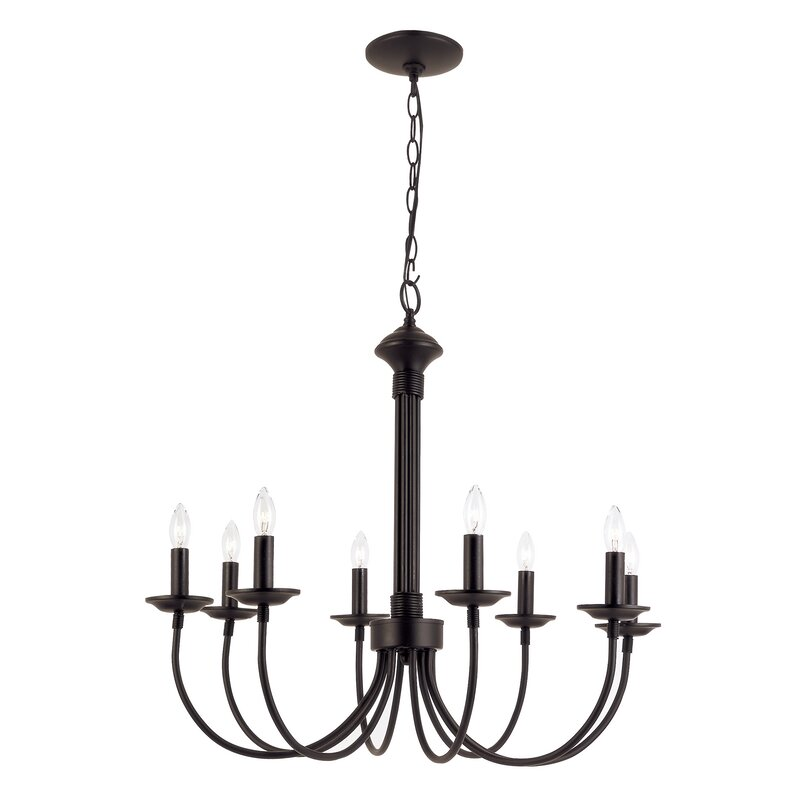 Laurel foundry modern farmhouse shaylee 8 light chandelier reviews shaylee 8 light chandelier aloadofball Image collections
