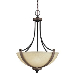 Kenna 3-Light Bowl Pendant by Laurel Foundry Modern Farmhouse