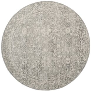 Montelimar Silver/Ivory Area Rug by Lark Manor
