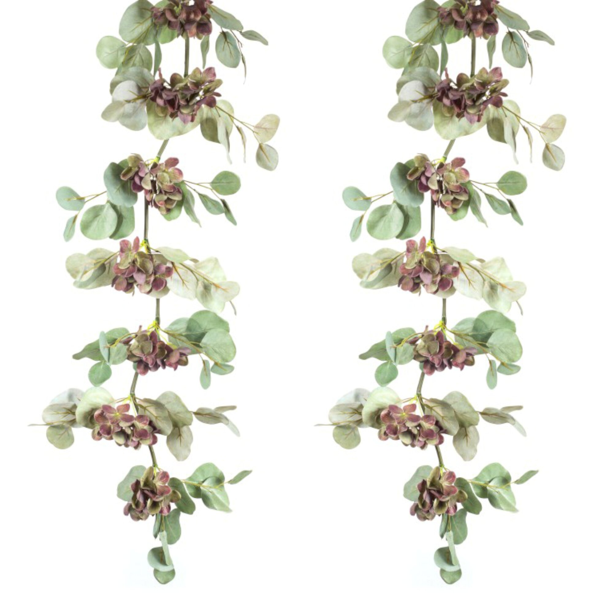 Ophelia Co Hydrangea Eucalyptus Garland Wayfair