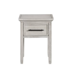 Letterly 1 Drawer Nightstand by Charlton Home