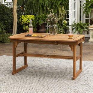 Table de salle à manger extensible en bois massif Tim
