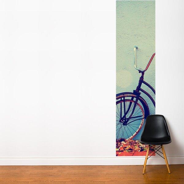 Ebern Designs Nordham Retro Bike Wall Mural Wayfair