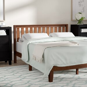 Dalila Solid Wood Platform Bed by Winston Porter