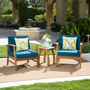Shop For Drage  3 Piece Conversation Set with Cushions Reviews