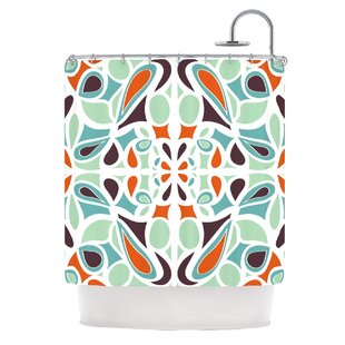 Stained Glass Single Shower Curtain