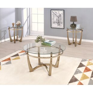 Field 3 Piece Coffee Table Set by Brayden Studio Looking for
