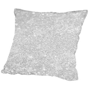 Shiny Glamour Luxury Throw Pillow