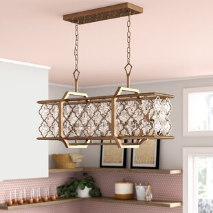 Bungalow Rose Egor Crystal 6-Light Kitche..