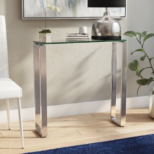 Ridinger Glass Console Table