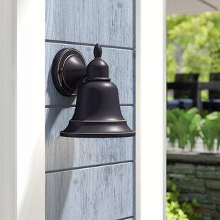 Three Posts Theiss 1-Light Outdoor Barn Light