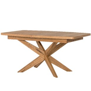 Myria Solid Wood Dining Table Union Rustic