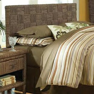 Plaid Panel Headboard by Padmas Plantation