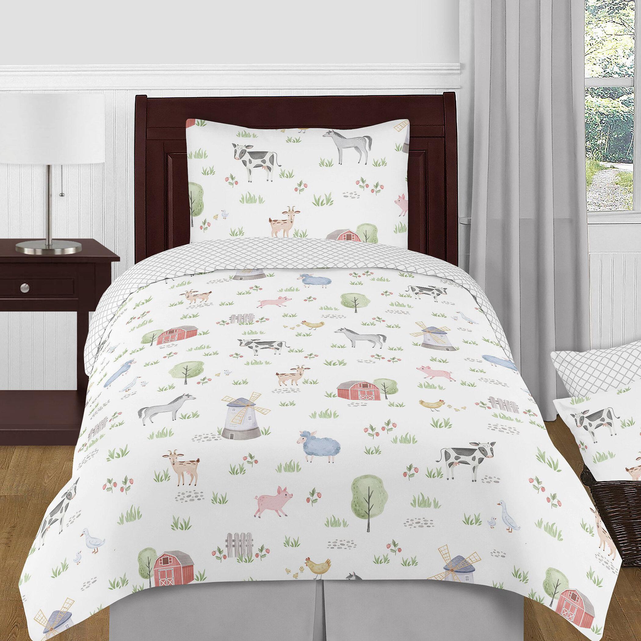 Sweet Jojo Designs Farm Animals Comforter Set Wayfair