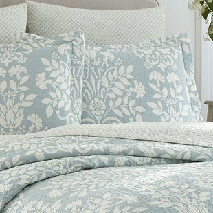 Rowland Reversible Coverlet Set by Laura Ashley