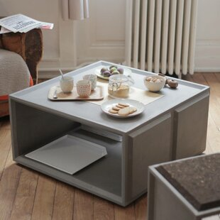Plus Solid Coffee Table By Lyon Beton