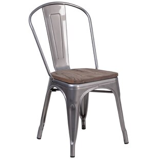 Dejon Stackable Dining Chair by Williston Forge 2019 Sale