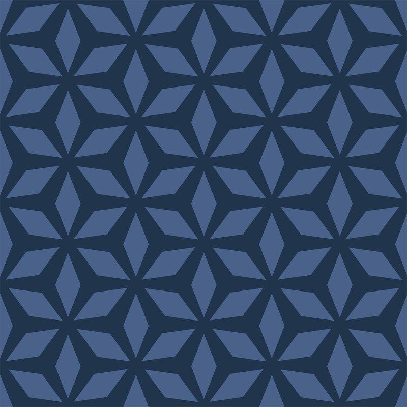Brayden Studio Gainsborough Diamond Removable Peel And Stick Wallpaper Panel Wayfair