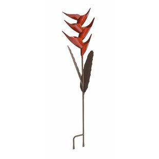 Desert Steel Helliconia Decorative Bird Feeder