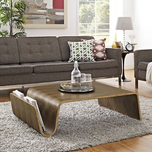 Top Reviews Polaris Coffee Table with Magazine Rack By Modway