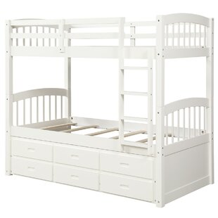 Tanvir Twin over Twin Bunk Bed with 3 Drawers