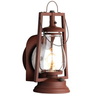 Bargain 49er Series 1-Light Outdoor Sconce By America's Finest Lighting Company