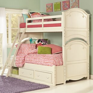 Charlotte Bunk Bed with Drawers by LC Kids