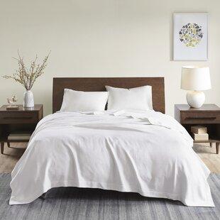 Adora Egyptian-Quality Cotton Solid Blanket