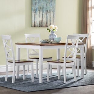 Hagerstown 5 Piece Dining Set by Alcott Hill