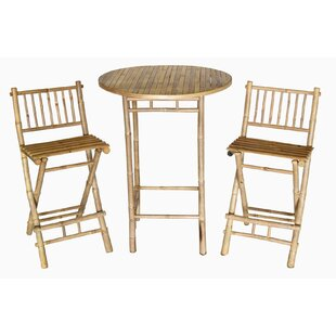 Bay Isle Home Dickenson 3 Piece Bistro Set