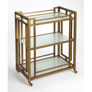 Collinsworth Metal Bar Cart by Mercer41