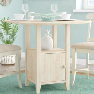 Edgehill Bar Extendable Dining Table by Rosecliff Heights