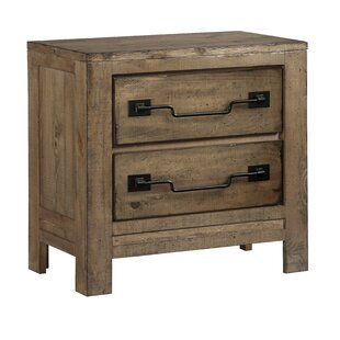 Chaffin 2 Drawer Nightstand