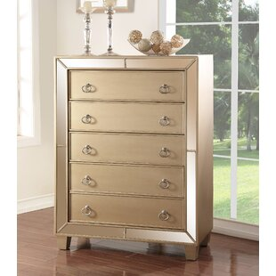 Willa Arlo Interiors Alasdair 5 Drawer Stand..