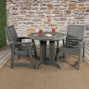 Berry 3 Piece Bistro Set by Darby Home Co