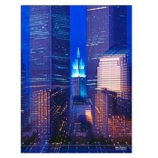 Twin Towers Black And White American History Wall Art Poster /& Canvas Pictures
