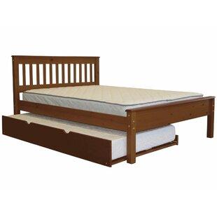 Treva Full Slat Bed with Trundle