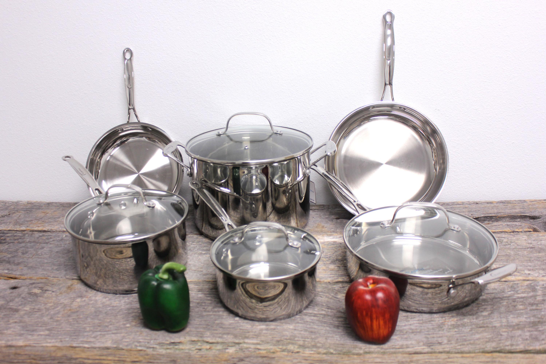 Berghoff International Earthchef Stainless Steel Cookware Set Reviews Wayfair