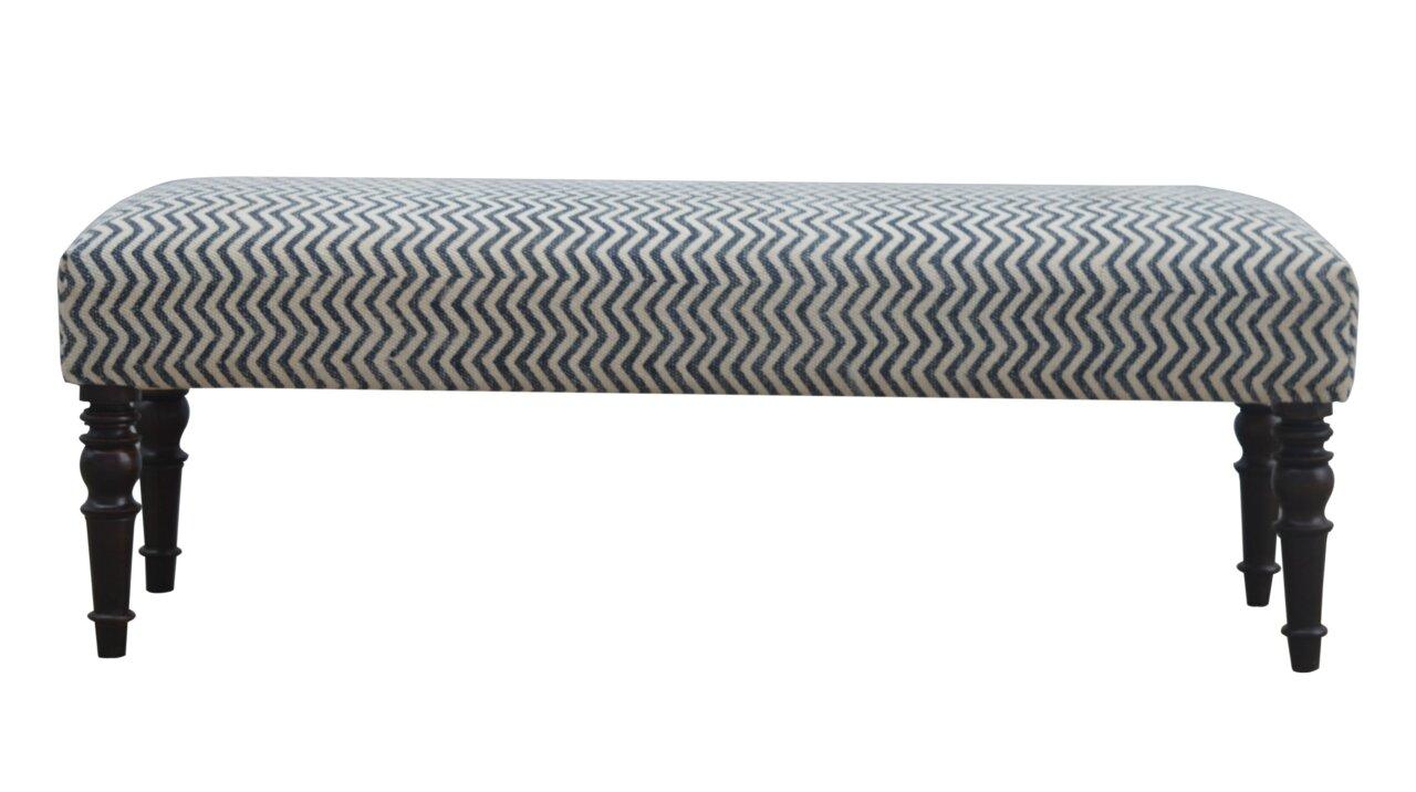 Red Barrel Studio Verdon Long Upholstered Bedroom Bench | Wayfair