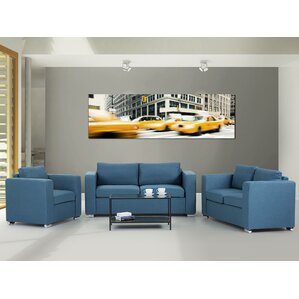 Cousins 3 Piece Living Room Set by Brayden Studio