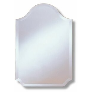 Rosdorf Park Agostini Arched Scalloped Wall Mirror
