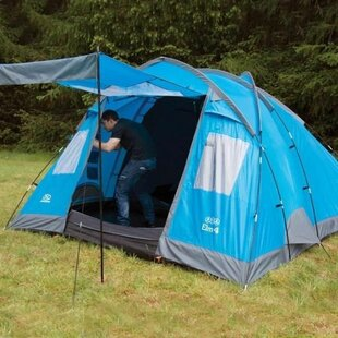 Elm 4 Person Tent With Carry Bag By Highlander